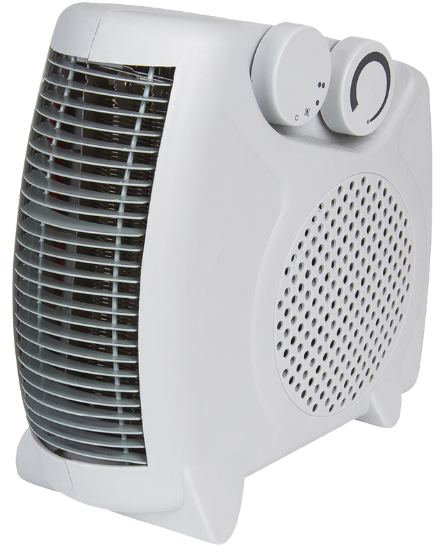 2KW Upright Portable Fan Heater with